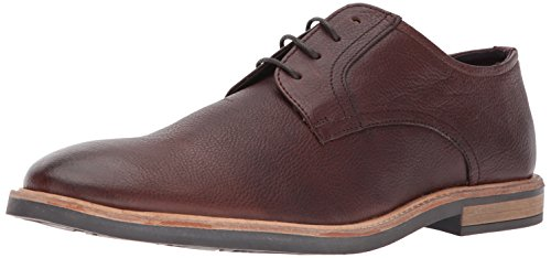 Ben Sherman Men's Birk Plain Toe Oxford, Brown, 12 M US (Ben Sherman Casual Shoes)