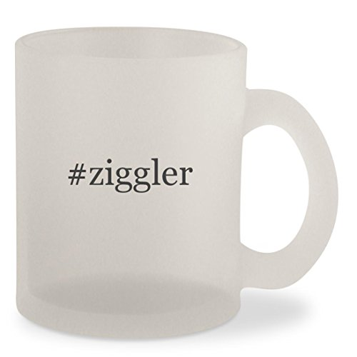 #ziggler - Hashtag Frosted 10oz Glass Coffee Cup Mug Song Coffee Grinder