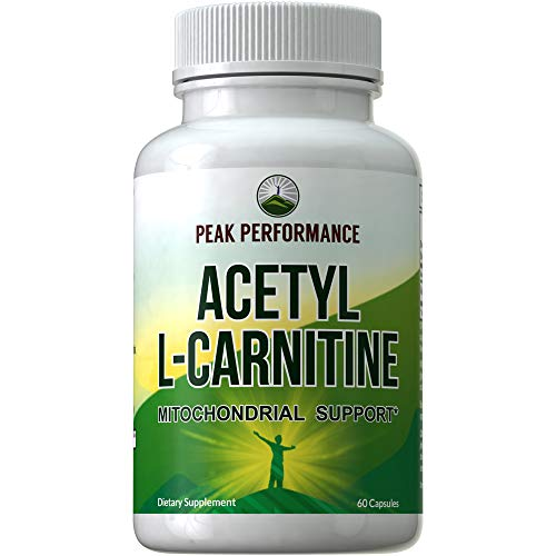 L Carnitine Peak Performance Supplement Mitochondria product image