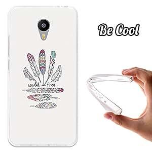 Becool - Funda gel flexible meizu m3 notewild and free carcasa case silicona tpu suave
