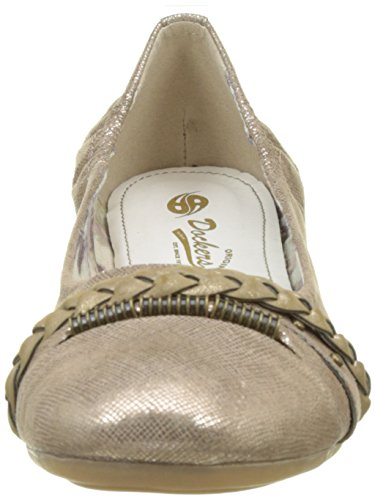 Dockers by Gerli Women's 34je219-630560 Ballet Flats Brown (Bronze 560) 4Ax1hb
