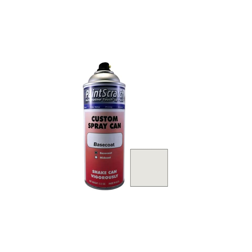 12.5 Oz. Spray Can of Cool white Touch Up Paint for 2003 Volkswagen Sharan (color code LA9B) and Clearcoat
