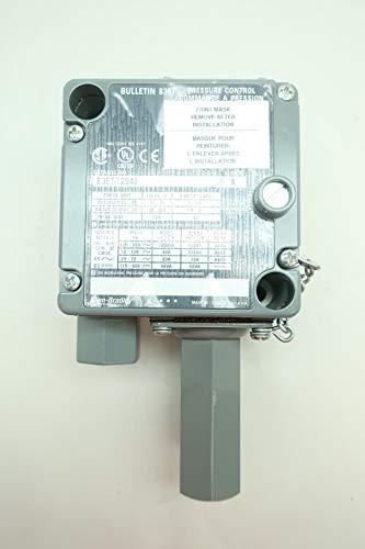 ALLEN BRADLEY 836T-T254J Pressure Control 1/4IN 20-300PSI 120-600V-AC SER A