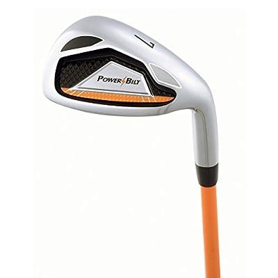 Powerbilt Boy's Ages 3-5 7-Iron Golf Stick, Right Hand, Orange