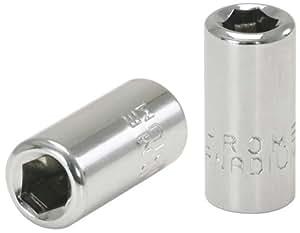 """KS Tools - Llave de vaso adaptador para puntas de destornillador (1/4"""", cromada)"""