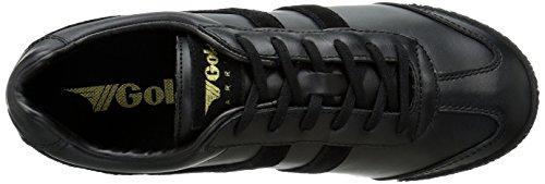 Gola Cla781 Harrier Mono Women's Black Fashion Sneaker rr7qS0P1