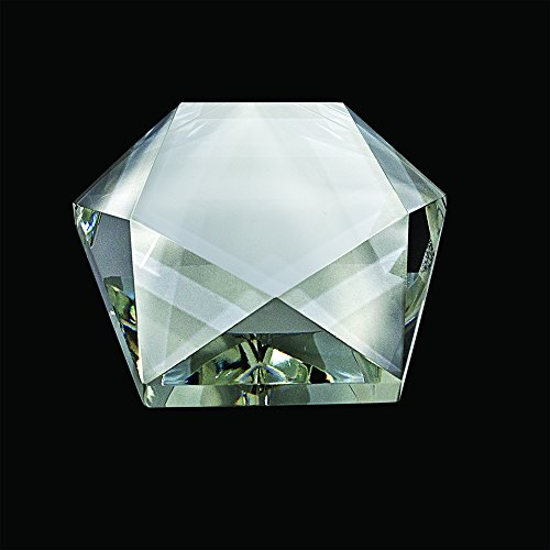 Star Paperweight Silver (Crystal Star Paperweight)