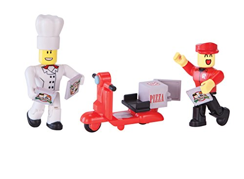 Roblox Work at a Pizza Action Figure with Exclusive Virtual Item
