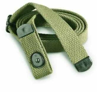 Ultimate Arms Gear M1 M-1 Carbine Military Mil Spec Quality Classic Reproduction OD Olive Drab Green Canvas Adjustable Rifle Strap with Metal Clamp and Loop 1.00