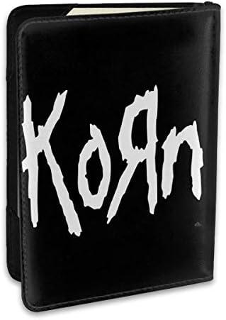 コーン バンド Korn Band パスポートケース パスポートカバー メンズ レディース パスポートバッグ ポーチ 収納カバー PUレザー 多機能収納ポケット 収納抜群 携帯便利 海外旅行 出張 クレジットカード 大容量
