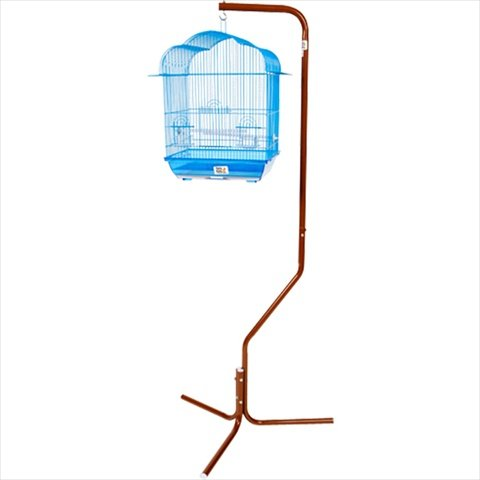 A&E Cage AE29534 White Tripod Stand For Small Bird Cages