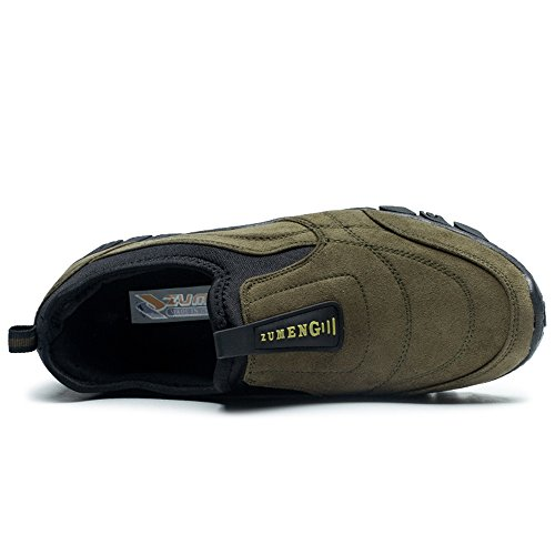 Zapatillas Aire al 2018 Zapatilla los Deslizamiento Plano shoes del de Deporte Casual Hombre de talón tamaño 39 Gris la Color EU en Zapatos Moda Hombres de Libre Verde para atléticos Shufang qB8E5ax1ww