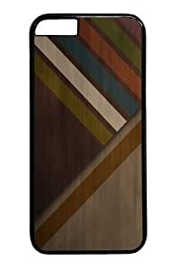Abstract wood colors PC For Iphone 5/5S Phone Case Cover BlackKimberly Kurzendoerfer