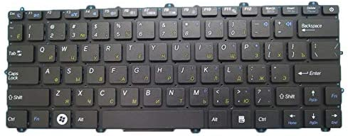 Laptop Keyboard for Topstar CX CX11 TU Russia RU 641100183071 4 Columns Black Without Frame