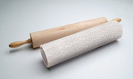 12-Inch Barrel Made of Solid/ Rock Maple Ateco 12275 Professional Rolling Pin Made in the USA