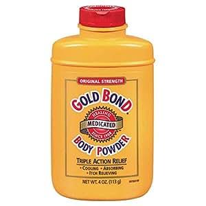 Gold Bond Medicated Body Powder, Original Strength, 4 oz (113 g)