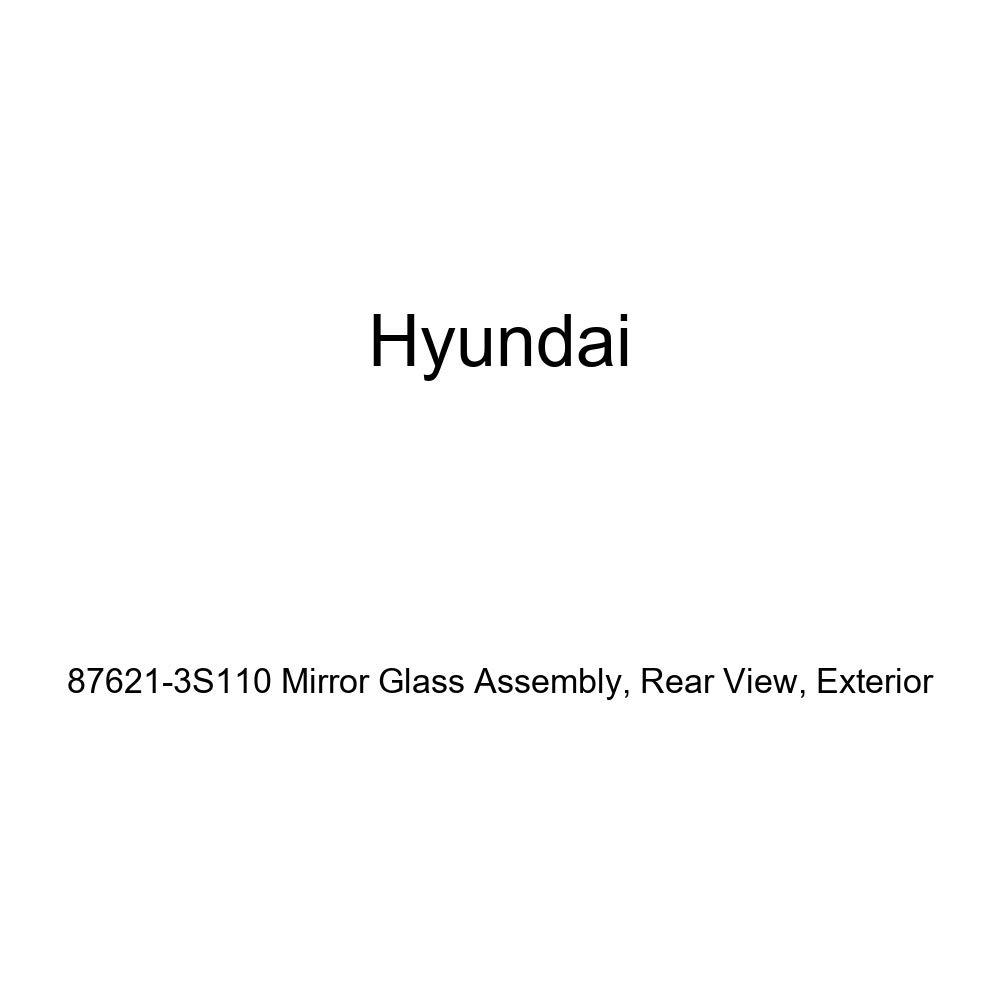 Exterior Rear View Genuine Hyundai 87621-3S110 Mirror Glass Assembly