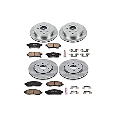 Autospecialty (KOE4062) Daily Driver OE Brake Kit, Front and Rear: Automotive