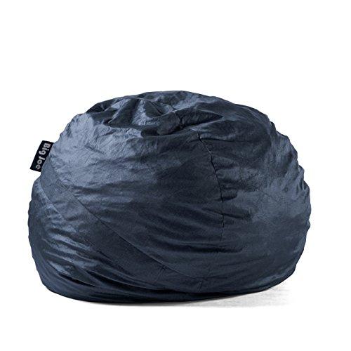 Big Joe 0010657 Fuf Foam Filled Bean Bag Chair, Large, Cobalt Lenox