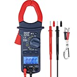 AstroAI Digital Clamp Meter, TRMS 6000 Counts Multimeter Volt Meter with Manual and Auto Ranging; Measures Voltage Tester, Current,Resistance,Continuity,Frequency;Tests Diodes (Renewed)
