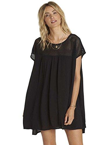 Around Kleid Billabong Black Meshin Kleid qZnnEd