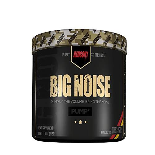 Big Noise – Pump Formula – Tigers Blood – 30 Servings