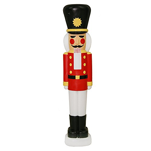 Outdoor Lighted Christmas Nutcrackers in US - 8