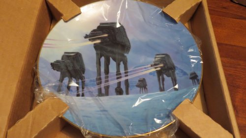 Star Wars Collectible Plates - The Hamilton Collection Star Wars Trilogy Collector Plate: Imperial Walkers