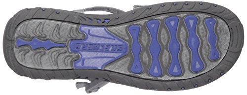 Gray Ring Happy Skechers Reggae Toe Sandal Rainbow Women's xqwwvz6F0