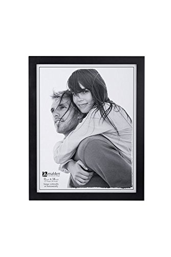 Malden International Designs Picture Frame, 11x14, Black