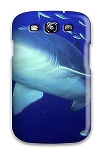 Christmas Gifts Excellent Design Predator Sand Tiger Shark Phone Case For Galaxy S3 Premium Tpu Case 1ZCG2O3EPGFFHCPA