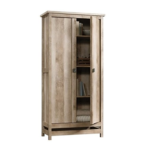 Sauder 416082 Storage Cabinet, Lintel Oak For Sale