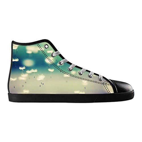 Dalliy Dandelion Mens Canvas shoes Schuhe Lace-up High-top Sneakers Segeltuchschuhe Leinwand-Schuh-Turnschuhe D