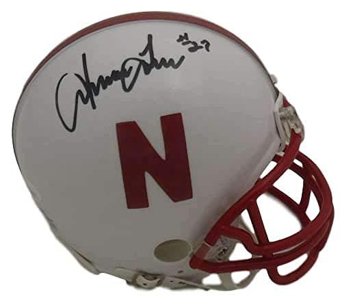 Irving Fryar Autographed/Signed Nebraska Cornhuskers Mini Helmet JSA