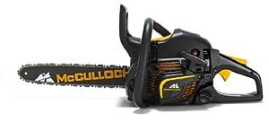 McCulloch 00096-67.669.36  Benzin-Kettensäge CS 390+ mit Nylon-Tasche, Kette,...