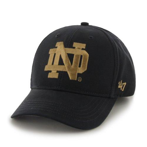('47 Kid's NCAA Notre Dame Fighting Irish Cotton Twill Structured Cap)