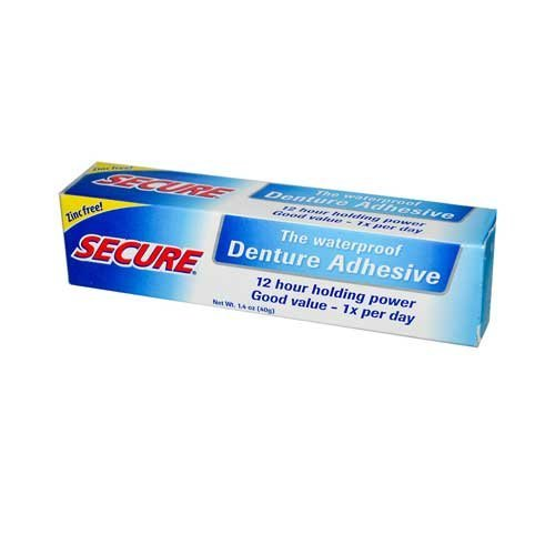Secure Denture Bonding Cream, 1.4 Ounce - 2 per case.