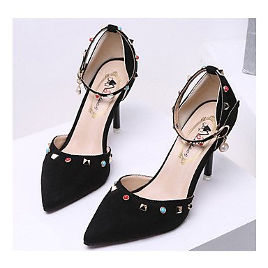 CN38 Party Spring EU38 Casual amp; US7 FYios Buckle Women'sHeels UK5 Club Dress Platform 5 5 Glitter Wedding Sequin Shoes Evening Summer 055Rqw