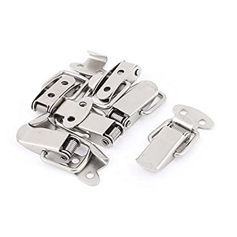 uxcell 6pcs Spring Loaded Metal Suitcase Chest Locking Toggle Latch