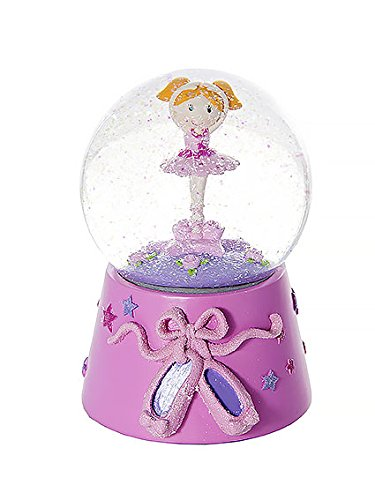 f25da0ff383 Amazon.com  Mousehouse Gifts Snow Globe Musical Music Box Pink Ballerina  Kids Ballet Gift for Little Girls  Home   Kitchen
