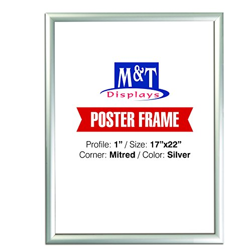 M&T Displays Snap Frame, 17x22 Poster Size 1
