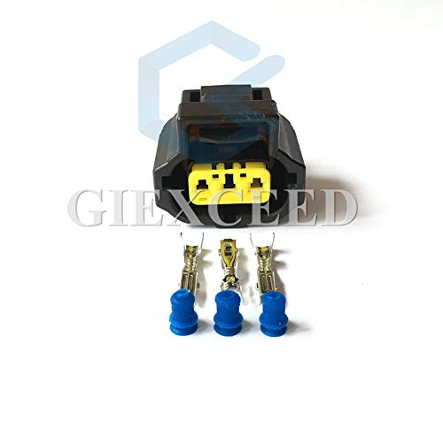 - 5 Sets Tyco Amp 3 Pin Pico 5716PT 1996-On for Ford Alternator Three Lead Wiring Pigtail 1U2Z-14S411-TA Wire Connector 184032-1