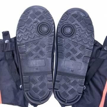 Größe 36-46 S-XL Nylon Oxford wasserdichte Schuhe Abdeckung rutschfeste verdicken