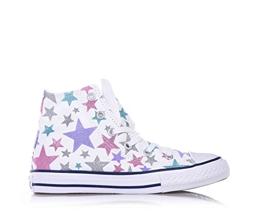Converse 30 White Bambina All 352773c Hi Star Sneakers wxn0pUwrq