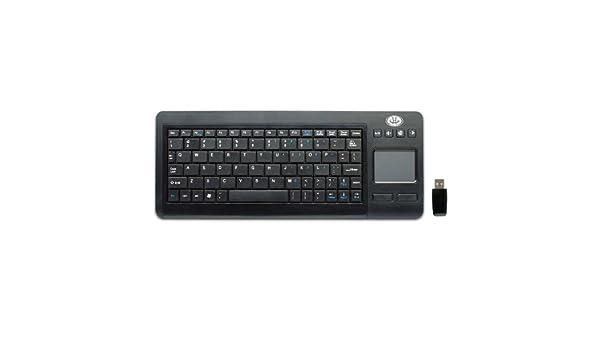 Gear Head KB3800TPW, RF Wireless, QWERTY, 2.4 GHz, AAA, PC, Windows XP, Vista, 7 (teclado QWERTY): Amazon.es: Electrónica