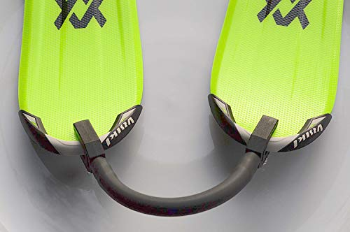 Outdoorsy Supplies Ski Tip Connector Trainer - Kids Ski Learning Aid - Ski Wedge Aid ()
