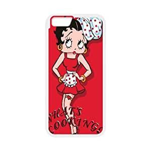 iPhone6 Plus 5.5 inch Phone Case White Betty Boop ZGC410631