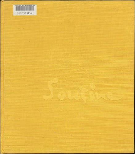 SOUTINE SPRING ART BOOK