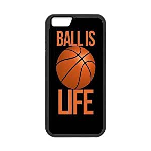 """Basketball is life Case for Iphone6 Plus 5.5"""",diy Basketball is life case"""