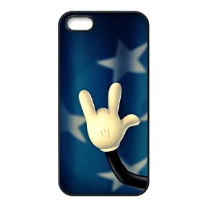 LZHCASE Diy Customized Hard Case Rock & Roll for iPhone 5,5S [Pattern-1]